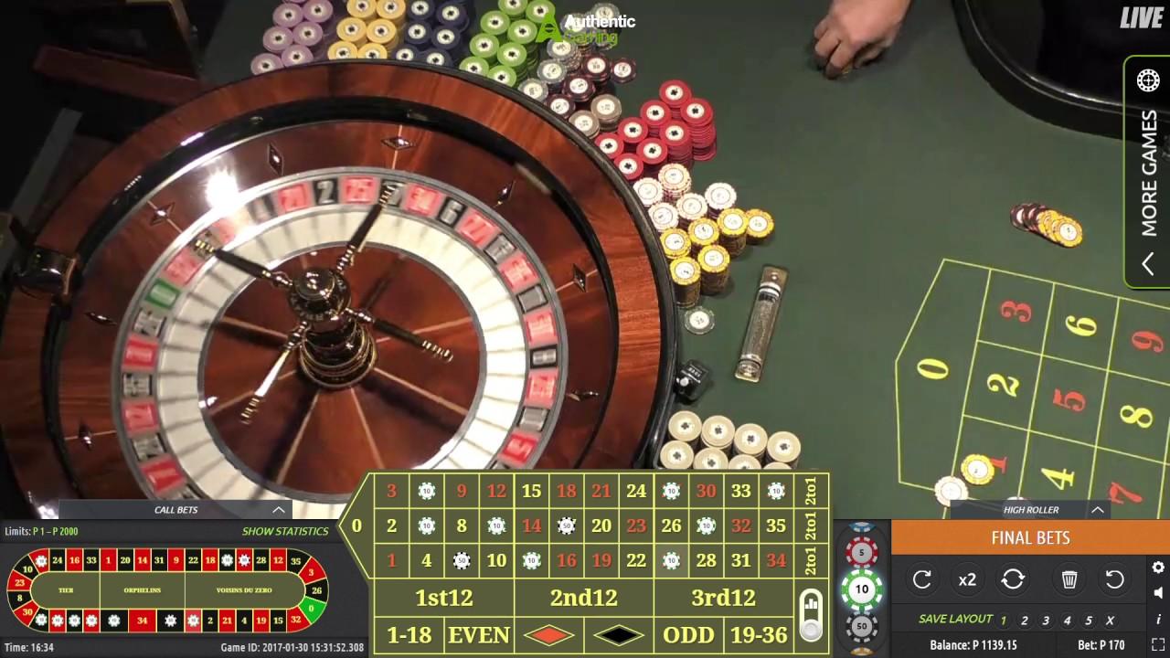 Roulette Live : jouer dans un casino réel en ligne !