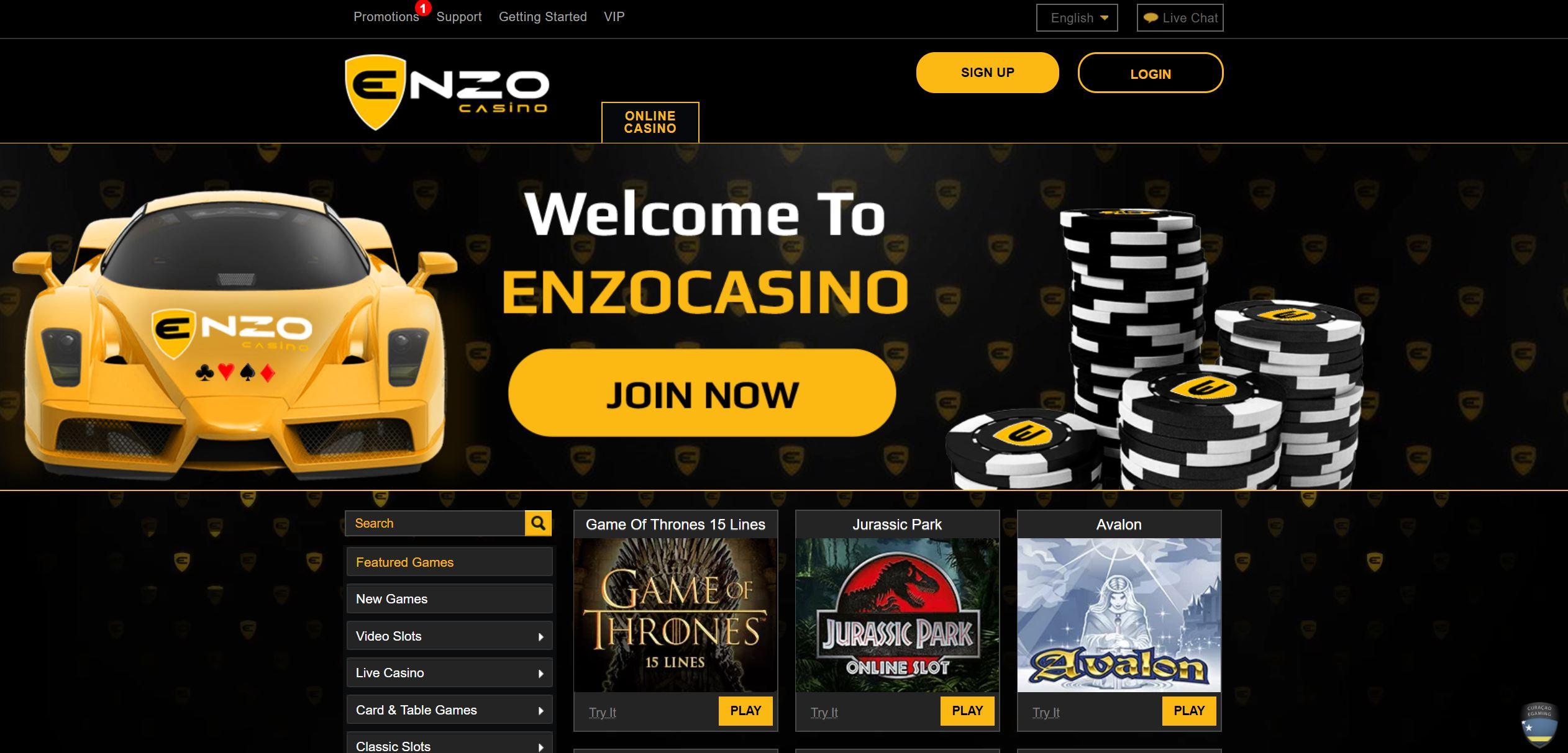 Avis Enzo casino : est-il une arnaque ?